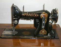 Pinnock sewing machine